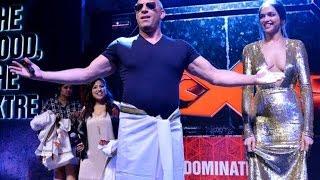 Deepika Padukone Teach Lungi Dance To Vin Diesel