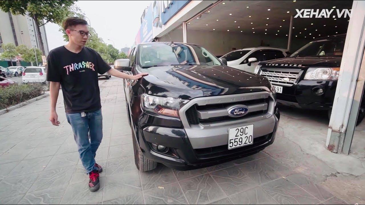  GÓC XE CŨ  Ford Ranger XLS 2015 sau gần 4 năm sử dụng  XEHAY.VN 