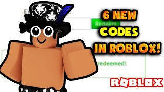 6 LATEST CODES IN ROBLOX!!!