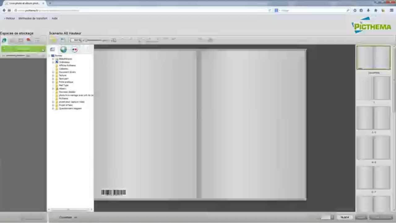 picthema en ligne comment cr er un album photo youtube. Black Bedroom Furniture Sets. Home Design Ideas