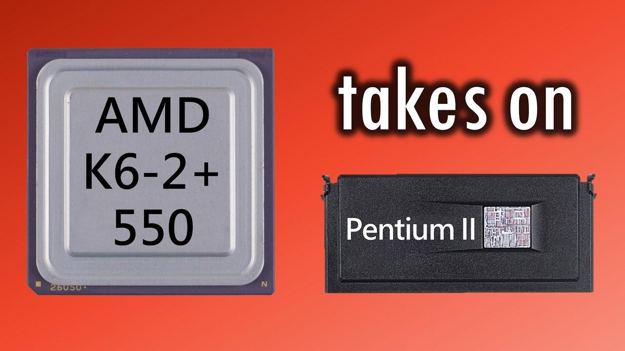 amd k6-2 vs pentium 3