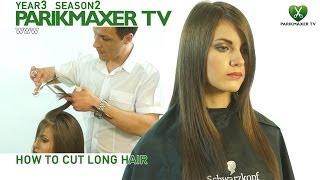 Как подстричь длинные волосы How to cut long hair парикмахер тв parikmaxer.tv peluquero tv
