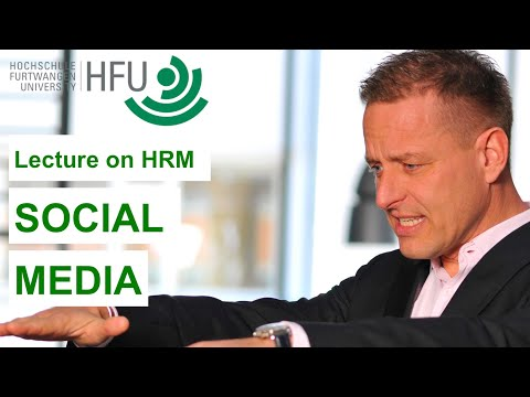 SOCIAL MEDIA IN HR - HRM Lecture 14