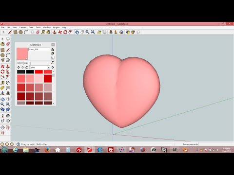 how to draw sphere in sketchup