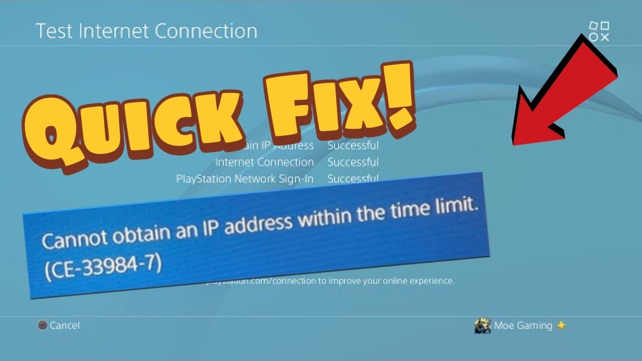 How to Setup a STATIC IP ADDRESS on PS4 for improved internet connection (Fast Method!)