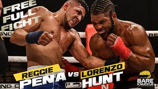 Huge Hematoma! Free Fight: Reggie Peña vs Lorenzo Hunt | BKFC 8