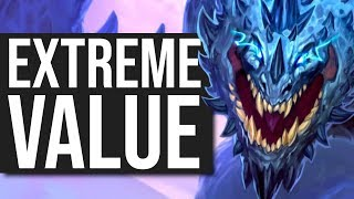 EXTREME Off the Charts Value! - Galakrond Shaman   Standard   Hearthstone