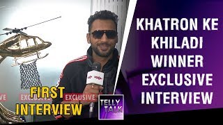 KKK 9 (Khatron Ke Khiladi) Winner Punit Pathak's FIRST Exclusive Interview | Video