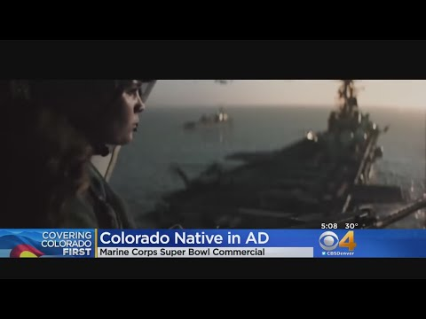 Colorado Native & Marine Featured In Super Bowl LII Commercial