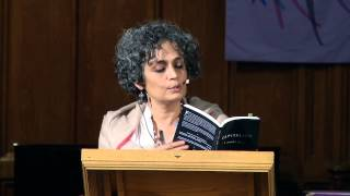 An Evening with Arundhati Roy, April 2014