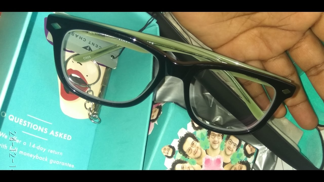 b4174480f86 UNBOXING AND REVIEW OF LENSKART Eye GLASSES (   IN HINDI   ) - YouTube