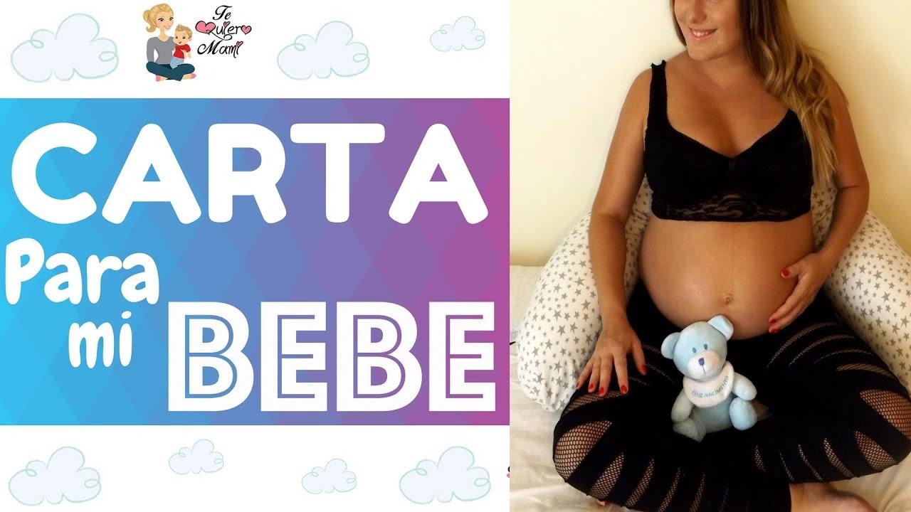 Carta Para Mi Bebe Embarazo Bebe En Camino Frases