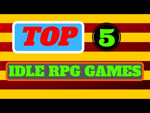 TOP 5 IDLE RPG MOBILE GAMES To Play In 2020 | Heroes, Artifacts, Gear | And HOW To Play Them
