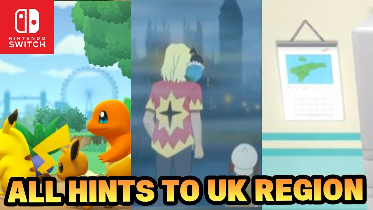 Pokemon Switch 2019 Based on the UK Speculation & All Hints!? (Pokemon  Generation 8 Region) - YouTube