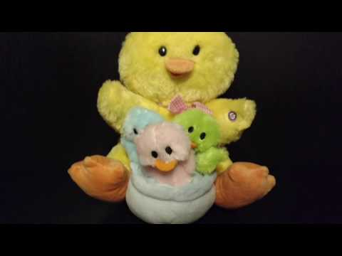Gemmy YOU ARE MY SUNSHINE Singing & Dancing Chicks Yellow Chicken Easter Plush Doll Stuffed Animal