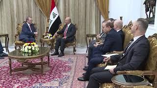 مبعوث بوتين يبحث في بغداد تطوير حقولها النفطية وأمن المنطقة