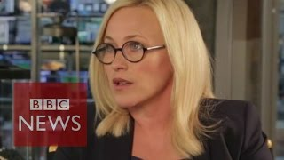 Patricia Arquette slams Hollywood pay gap - BBC News