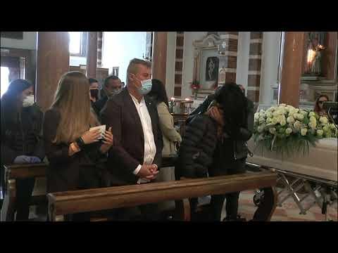 funerali Martina Medas (servizio tg Telearena)