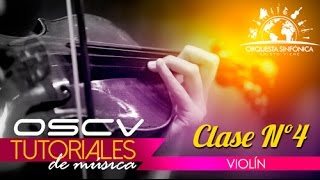 Tutorial violín clase nro 04
