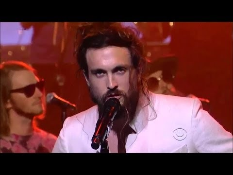 """[HD] Edward Sharpe and the Magnetic Zeros - """"Life Is Hard"""" 7/24/13 David Letterman"""