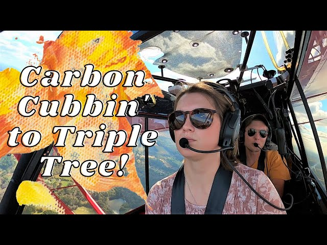 Carbon Cubbin' to Triple Tree to fly the Mustang!