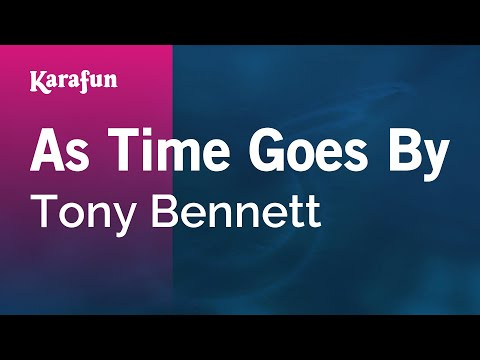 Karaoke As Time Goes By - Tony Bennett *