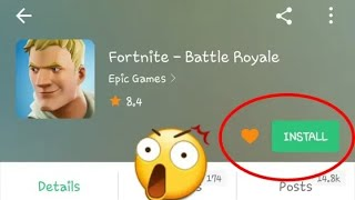How To download Fortnite On Android ! From APK PURE 100% WORK ON ANY ANDROID DEVICE