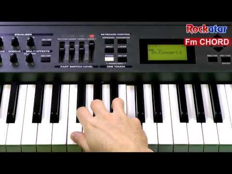Fm chord on Keyboard