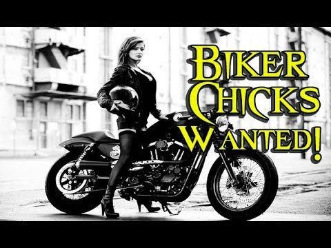 youtube motorcycle chicks BIKER CHICKS WANTED - Motorcycle Women are Hot - YouTube