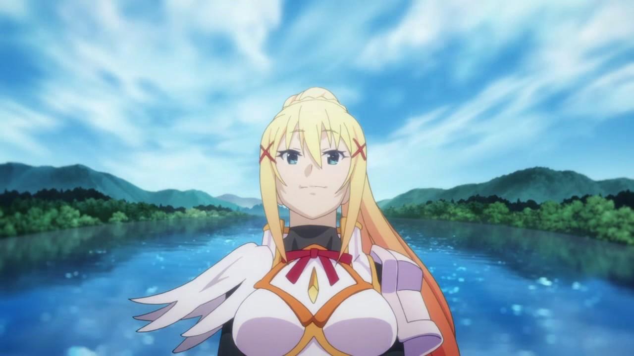 Konosuba Aqua Darkness Megumin From Ending Kono Subarashii