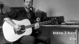 Rolling In The Deep - Guitar Cover With Chords & Rehearsal Cues - no capo - Adele