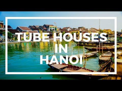 Why are Hanoi tube houses so narrow? Property taxes!