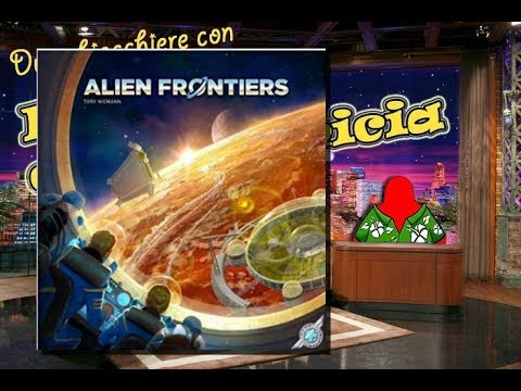 Alien frontiers - Due chiacchiere con il Meeple con la camicia