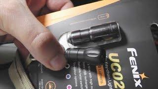 Фонарик на ключи Fenix UC02 с micro USB, мини-обзор, мнение сравнение