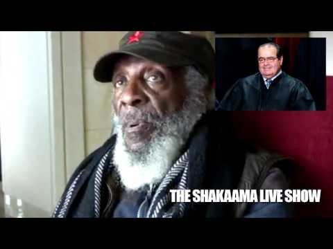 Dick Gregory Reveals Scalia