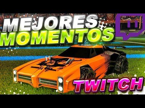 MEJORES MOMENTOS TWITCH #1 ~ ROCKET LEAGUE thumbnail