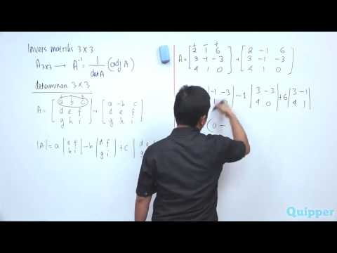 quipper-video---matematika---matriks-invers