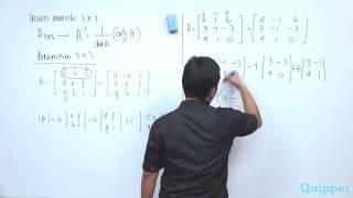 Gambar cover Quipper Video - Matematika - Matriks Invers