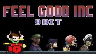 Feel Good Inc. 8-Bit (Drum Cover) -- The8BitDrummer