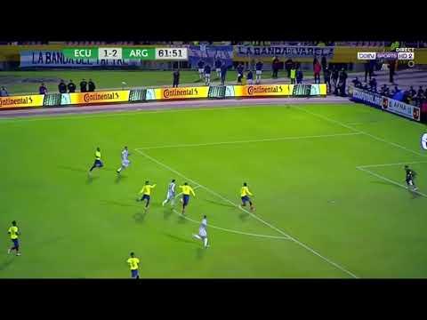 Ecuador-Argentina 1-3 - All Goals & Highlights - 10/10