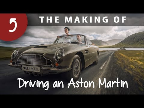 The making of: Driving in an Aston Martin in Iceland