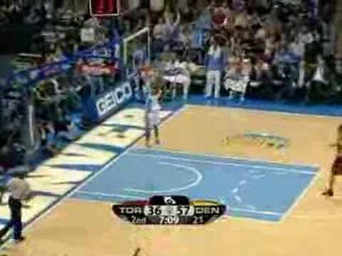 Toronto Raptors Vs Denver Nuggets Mar 14 08 Youtube