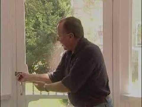 Fix a sagging screen door youtube for How to fix a sagging exterior door
