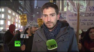 Протестующие отрицают вину в гибели полицейских в Бруклине