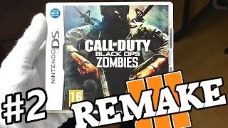 """BO1 NINTENDO DS ZOMBIES """"FACILITY"""" REMAKE IN BLACK OPS 3! Call of Duty BO3 Mod Gameplay"""