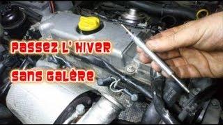 Changer ses bougies de préchauffage, Saab 9.3 Tid, Opel 2,2 dti