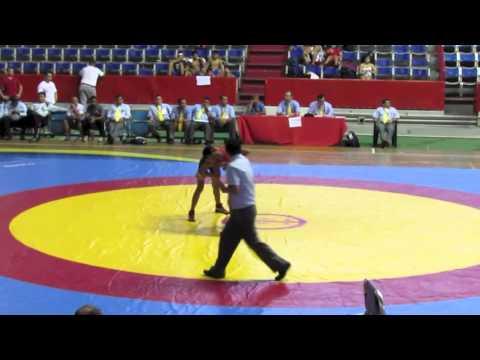 2012 Cadet Pan-American Championships: 46 kg Columbia vs Venezuela