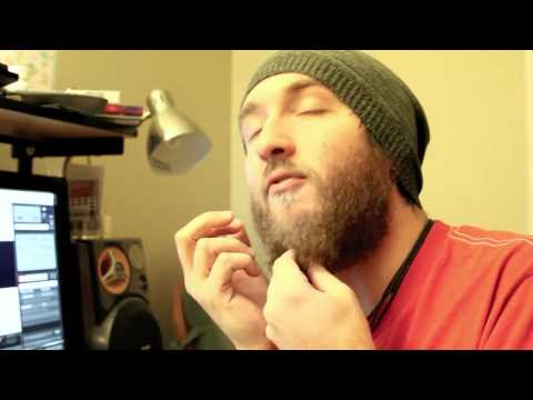 Dying my hair and beard WHITE!! - YouTube