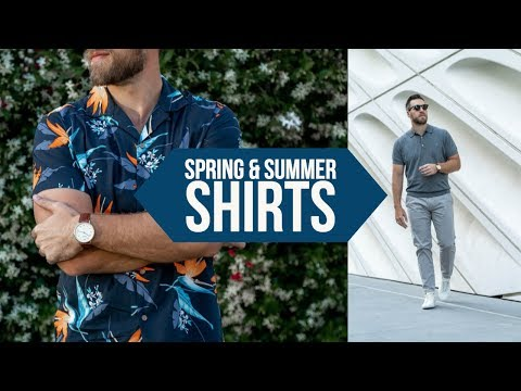 10 Casual Shirts PERFECT for Spring and Summer || Men's Style 2018 || Gent's Lounge