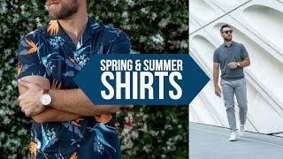 10 Casual Shirts PERFECT for Spring and Summer || Men